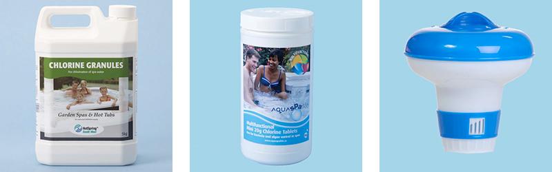 Hot Tub Chemicals Chlorine