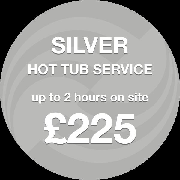 Hot Tub Service - Silver